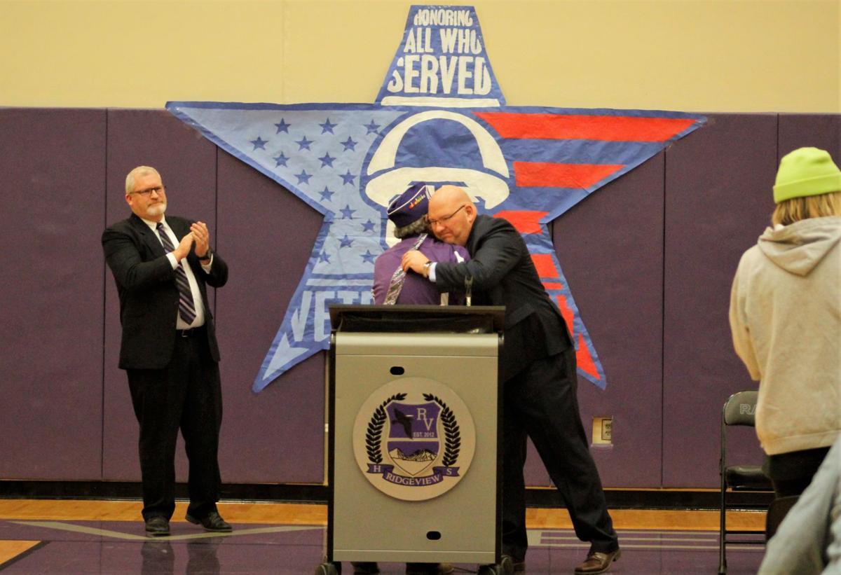 Ridgeview pays tribute to veterans
