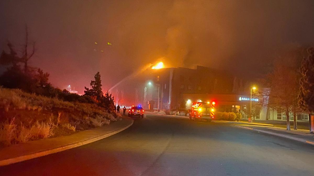 Redmond fire hotel