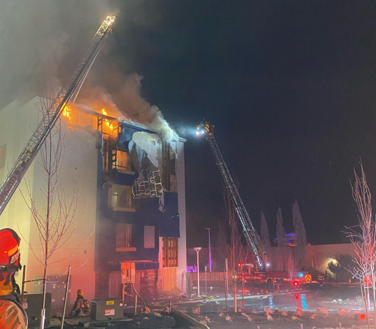 Redmond hotel fire