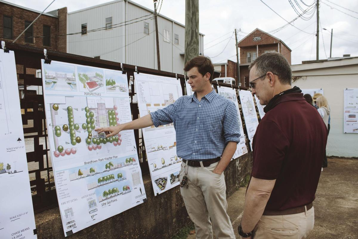MSU student designs displayed for proposed park