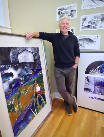 "Brent Funderburk ""exhibits"" 40 years of art on campus"