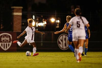 Fans boost MSU soccer to first SEC win