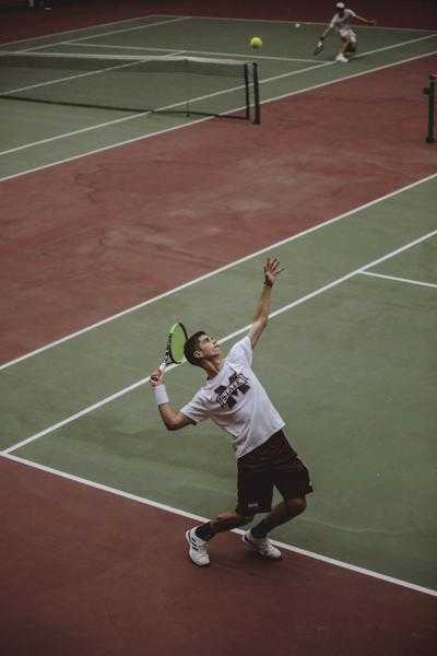 Alberto Colas shines as Bulldogs beat the University of Miami in tennis