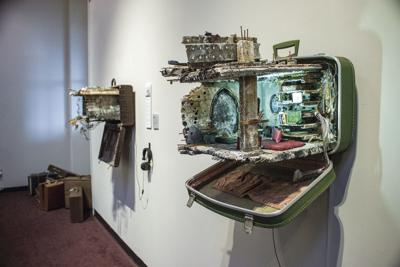 Art display unpacks refugees' stories