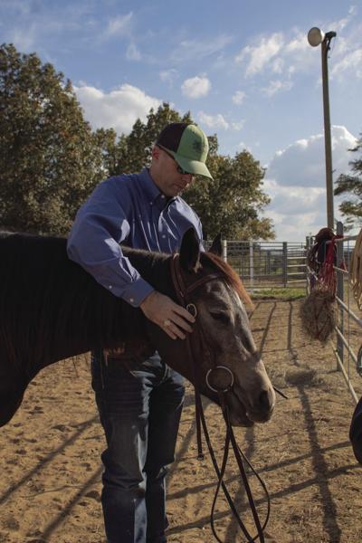 Professor Clay Cavinder reflects on MSU's equine program