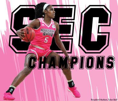 Women's basketball wins SEC Championship