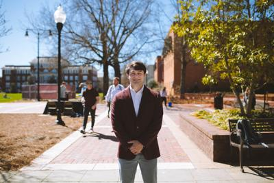 SA President Garrett Smith strives to evolve, engage and empower every MSU student