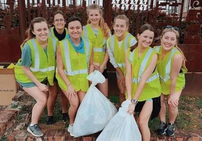 Community service benefits society and the overall health of those who volunteer