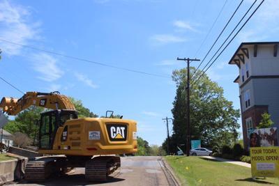 Blackjack Road construction is underway