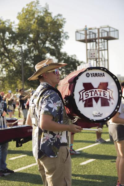 Famous Maroon Band largest in university history