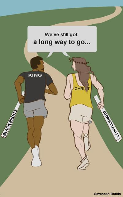 MLK and Jesus