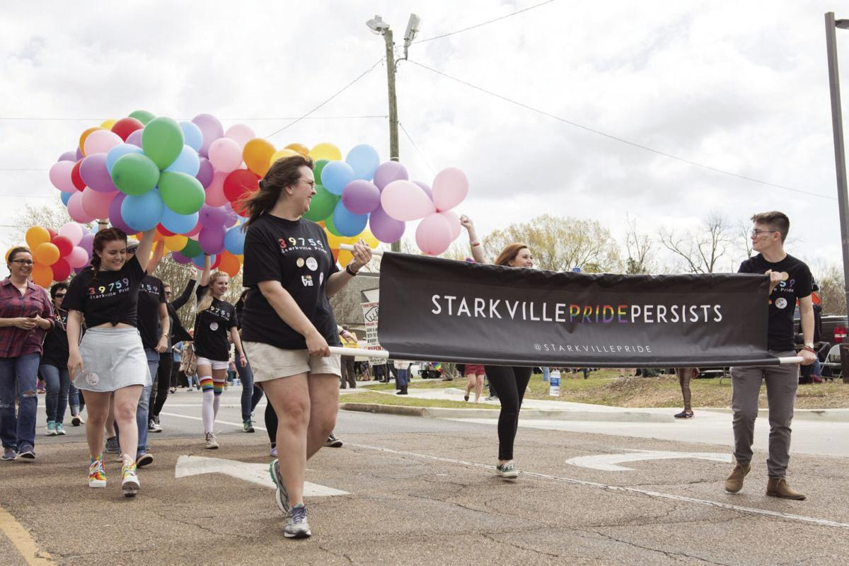 First-ever Starkville Pride Parade a success