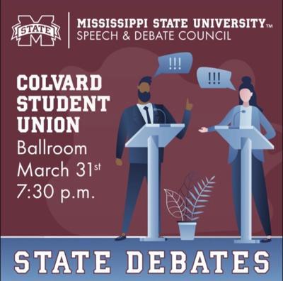 state debates infographic