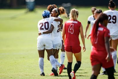 MSU soccer bounces back, topples Ragin' Cajuns