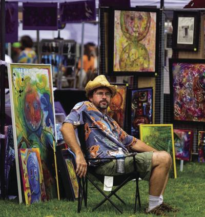 J. Broussards Art in the Restaurant night features MSU faculty member