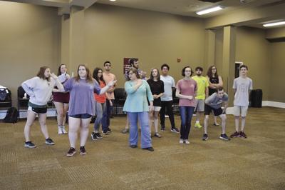 Honors seminar students are 'Acting Through the Ages'