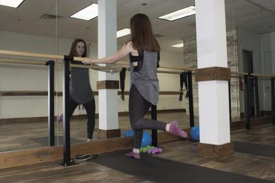 Students raise the 'barre' at The Studio Barre and Wellness
