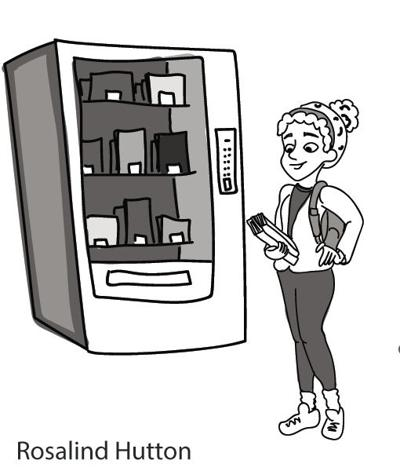 Vending Machine School Supply