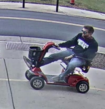 Student charged with DUI for driving scooter stolen from disabled veteran