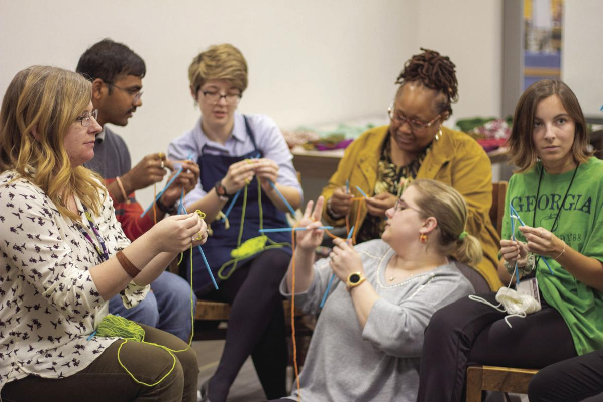 Students stitch in style in MSU library's makerspace