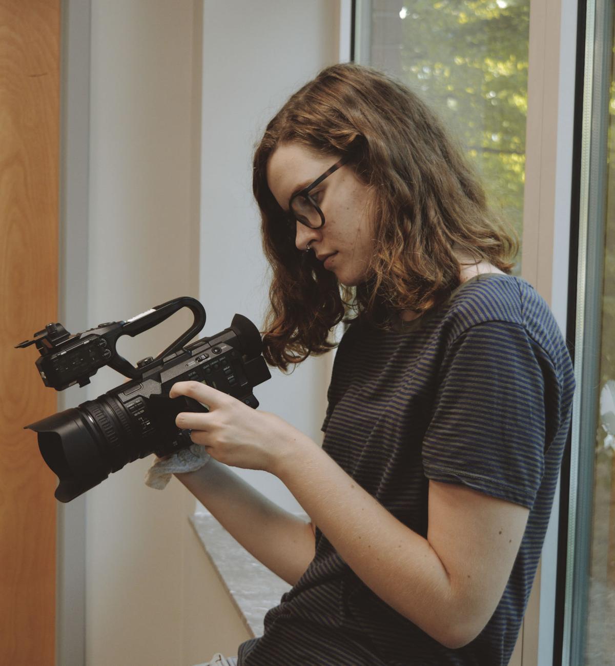 "Student film club arrives on ""The Scene"""