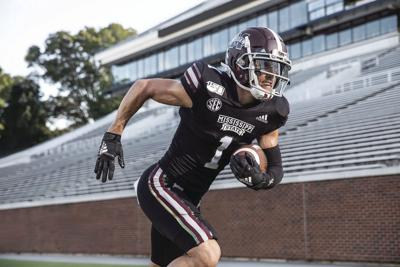 MSU Football Team wears new jerseys in support of the T.K. Martin Center
