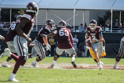 Under-Dawgs take down Aggies on the road