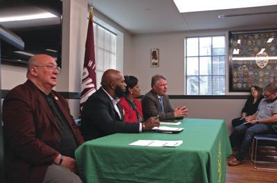 Legislators talk lottery, BP settlement in forum