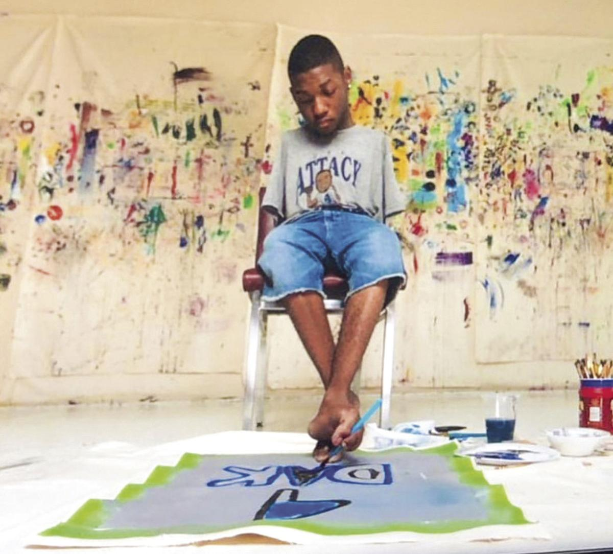 MSU student artist defies disability, nominated for Emmy