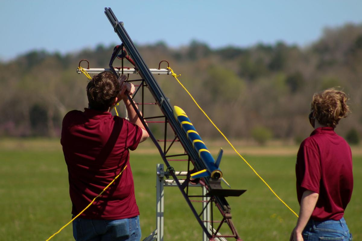Space Cowboys certify members with rocket launch day