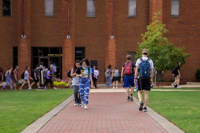 The Drill Field is inconvenient for pedestrians but could improve with minor changes