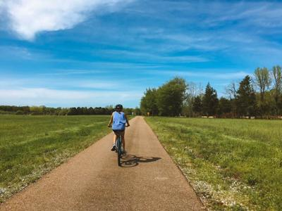 The Tanglefoot Trail beckons bicyclists off the beaten path