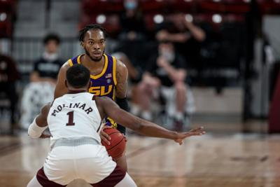 Tigers topple Bulldogs in men's basketball