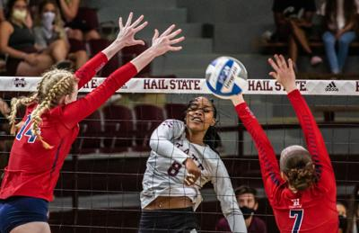 Hail State Invitational held mixed emotions for MSU volleyball fans