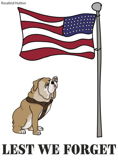 Bulldogs Honor Veterans