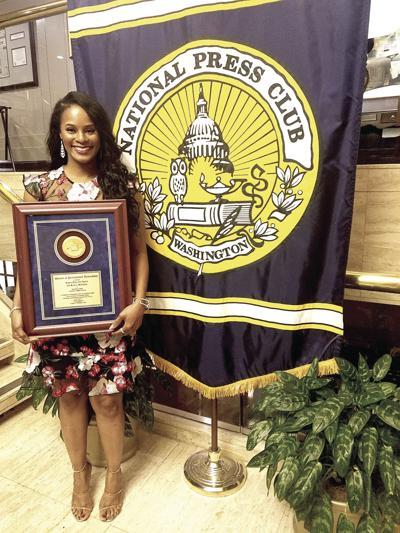MSU alumna wins journalism award