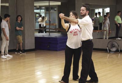 Free ballroom dance lessons pick up the pace