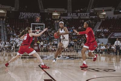 Spotlight: Rickea Jackson shines in game against Georgia
