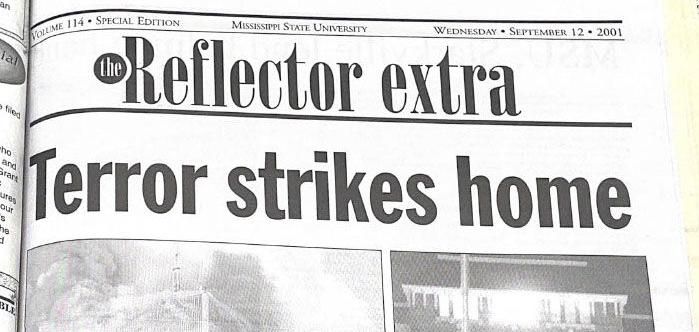 20 years later: Former Reflector editor describes experience of covering devastating attacks