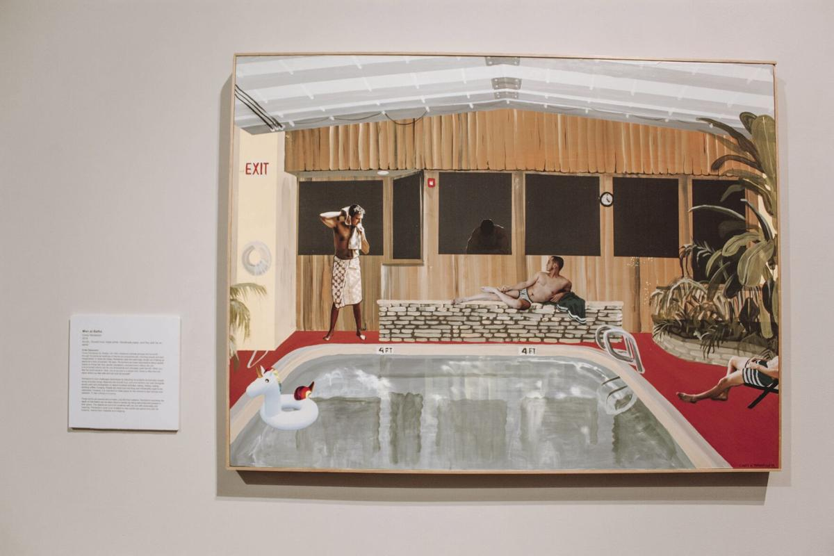 Art exhibition displays identities of various American artists