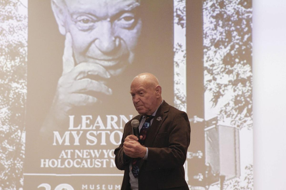 Holocaust survivor shares his story with students