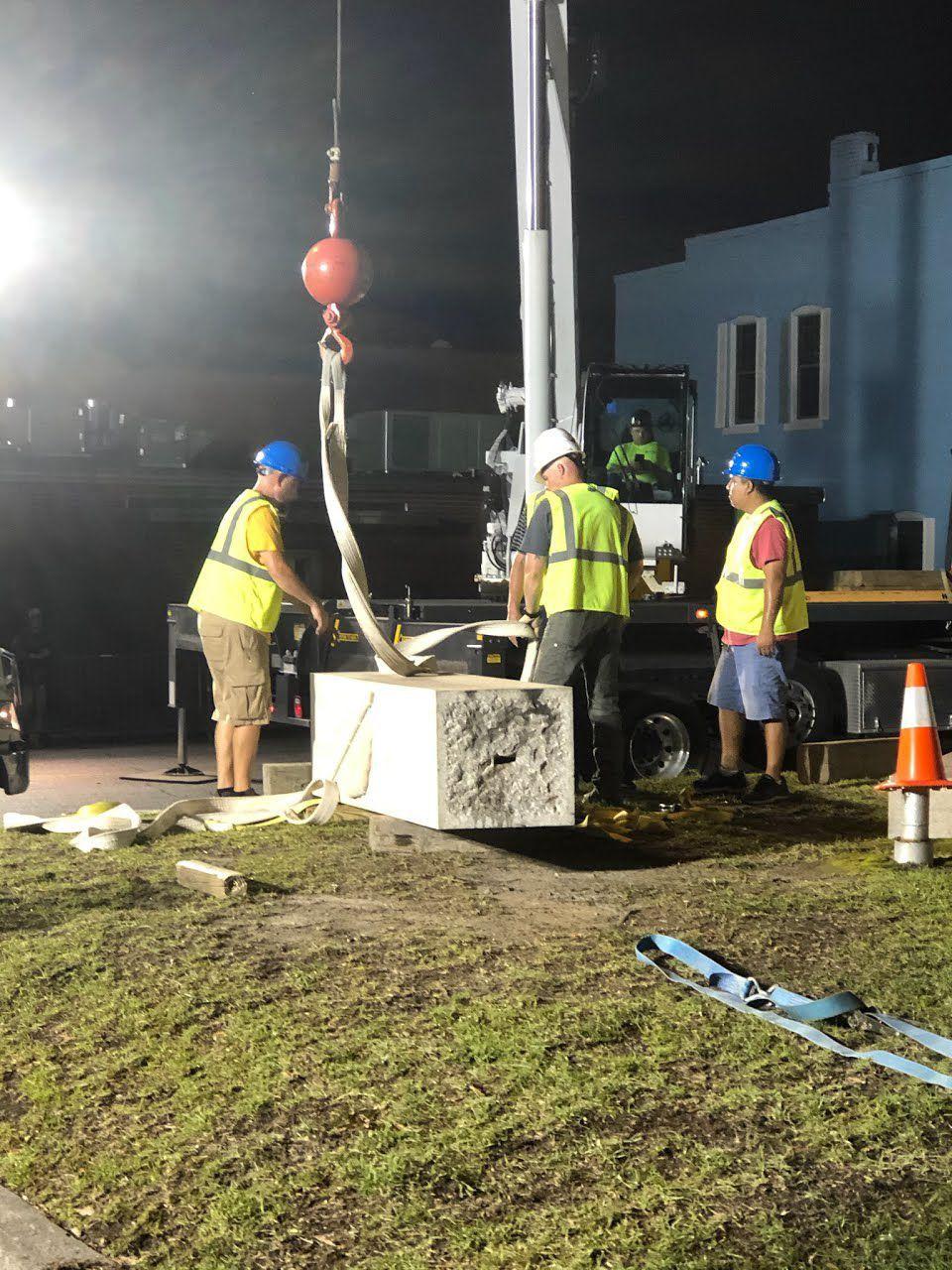 Pedestal removal2