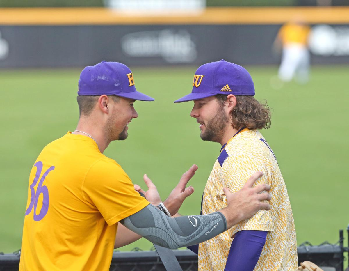 ECU's first baseball practice Friday 11