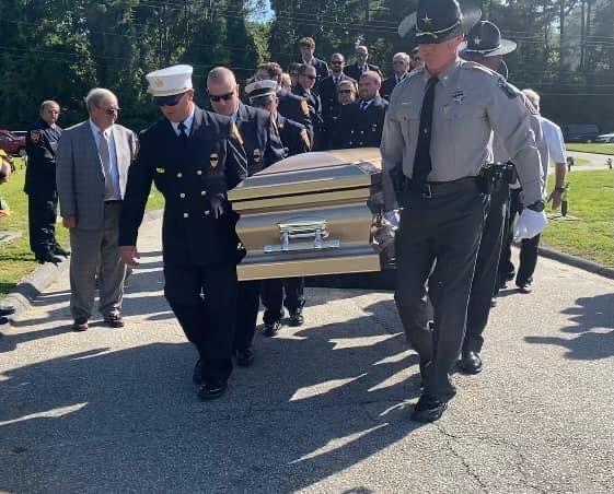Glenn Jernigan funeral service