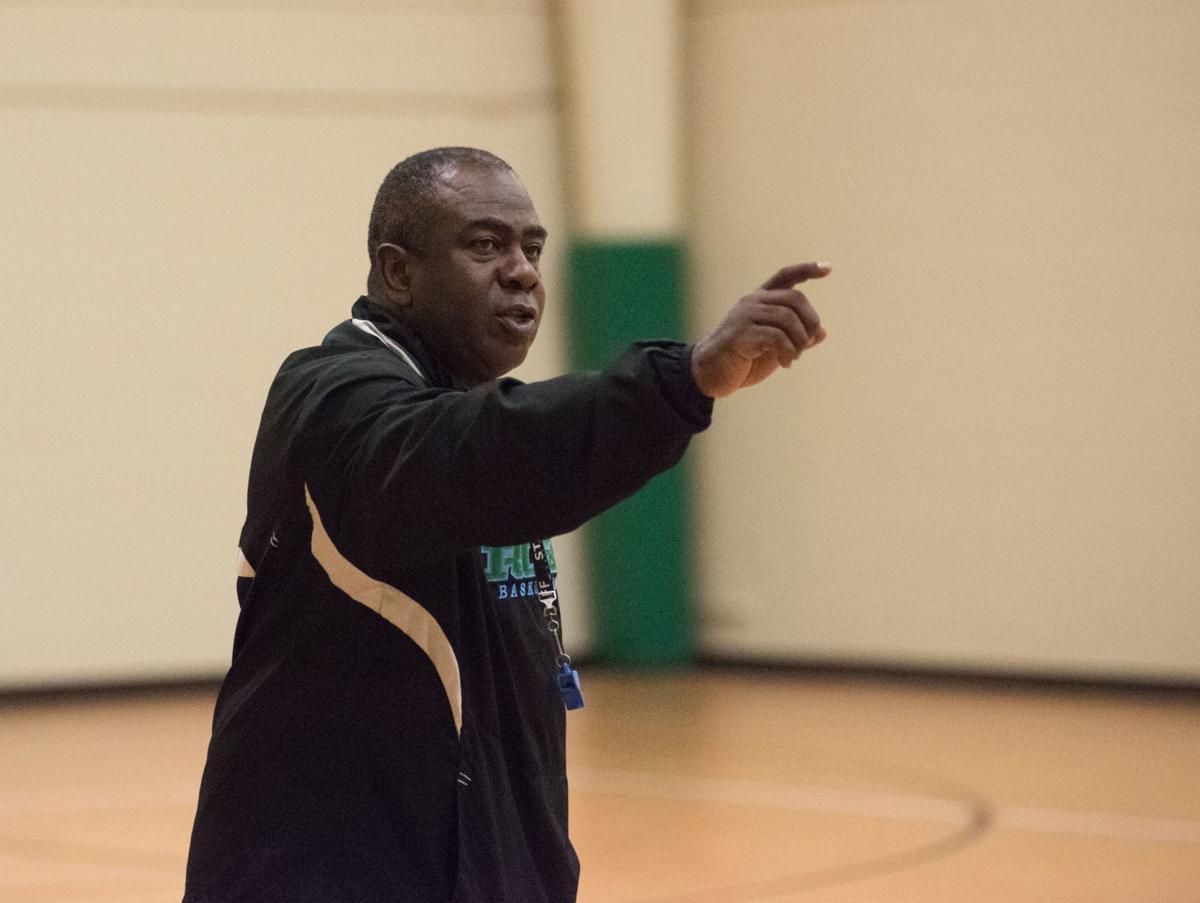 J.H. Rose Basketball Practice