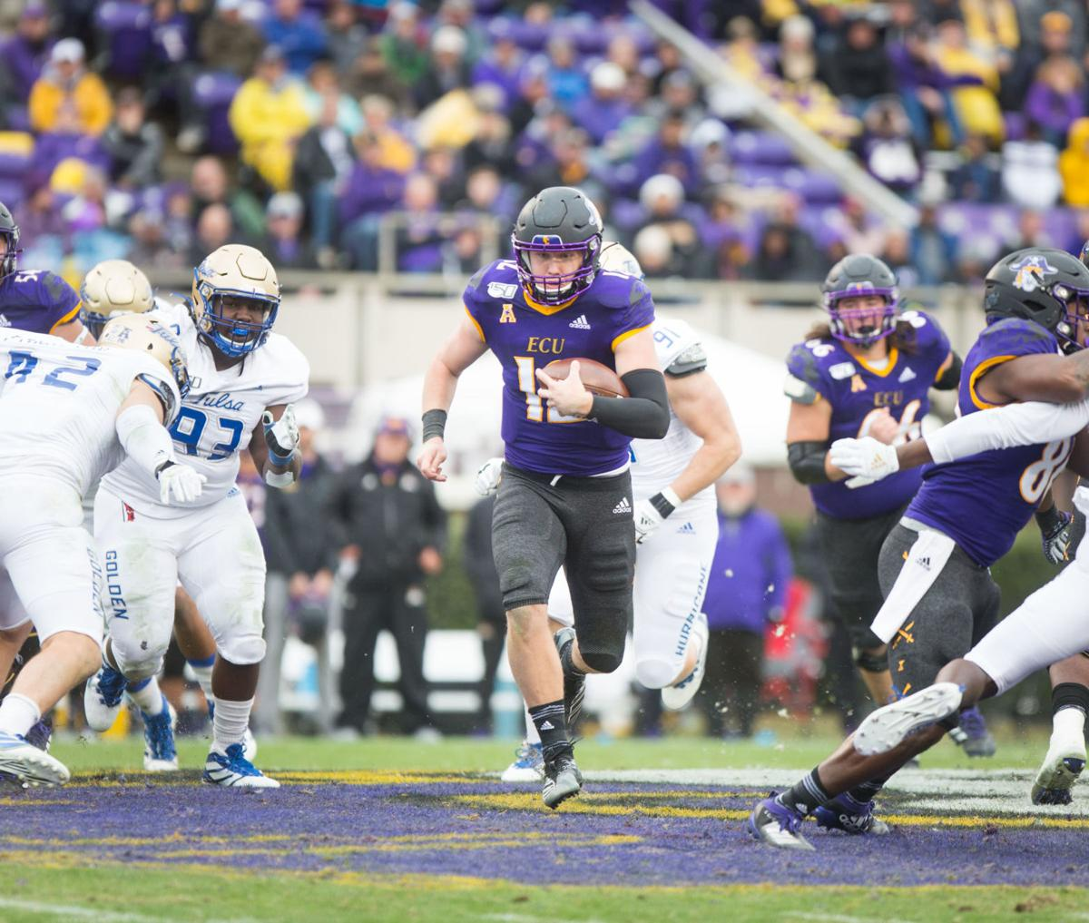 ECU Football-Ahlers run
