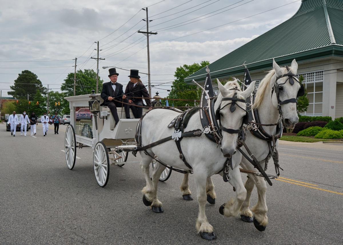 brown funeral procession 2