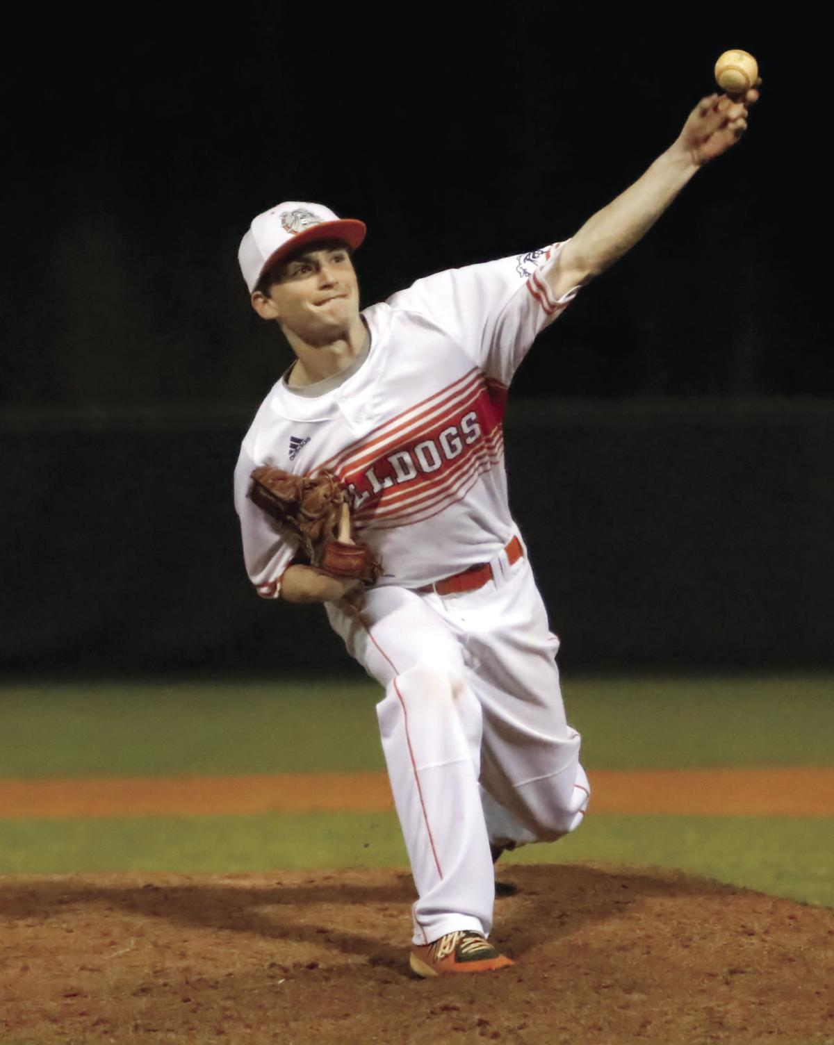 TYLER BRINKLEY pitches