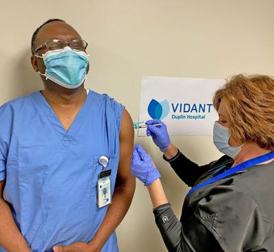 COVID-19 vaccinations start in Duplin