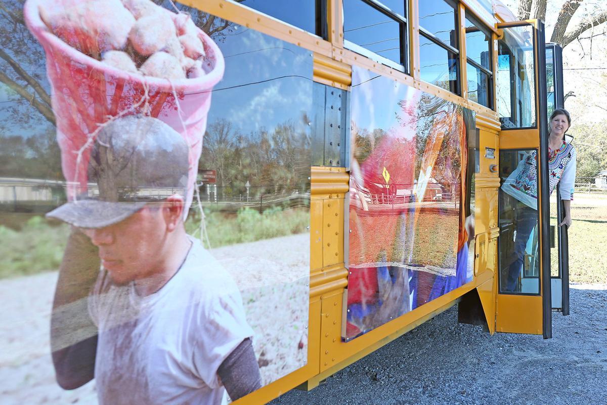 Bus sculpture project's voyage has begun 7